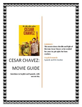 Cesar Chavez Movie Guide