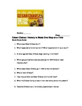 César Chávez 2014 Movie Questions - The new biopic. by Sra Parrish