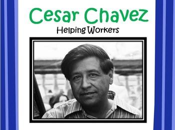 Cesar Chavez POWERPOINT- 3rd Grade Social Studies
