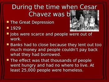 Cesar chavez.