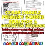 Cesar Chavez Primary Source Activity Set