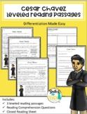 Cesar Chavez Reading Comprehension
