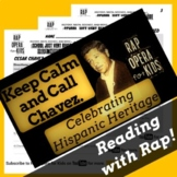 Cesar Chavez Worksheet Activity, Civil Rights Reading Passage and Rap Song