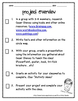 Cesar Chavez Reciprocal Teaching Project