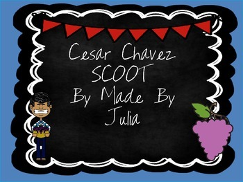 Cesar Chavez Scoot- Great for GA Milestone!
