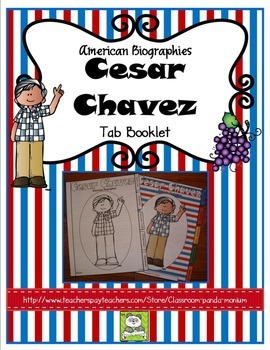 Cesar Chavez Tab Booklet