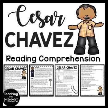 Cesar Chavez article & questions, Latino rights, civil rig