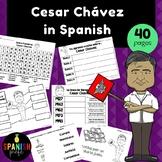 Cesar Chavez in Spanish (Actividades y escritura Cesar Chavez)