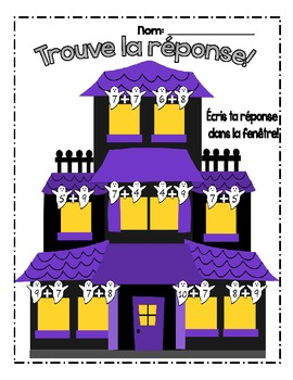 {C'est l'Halloween!} Fun MATH activities for grade 2-3 French immersion or Core
