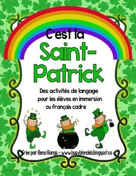 {C'est la Saint Patrick!} Language activities for 1e-3e Fr