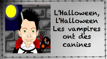 C'est la nuit - French Halloween Song Bundle