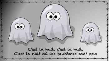 C'est la nuit - French Halloween Song & Video