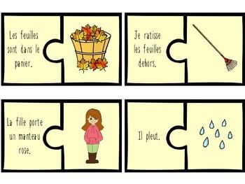 C'est l'automne! 4 jeux de mots - Fall language games