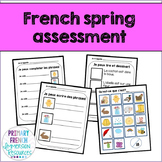 French spring / le printemps - Reading, Writing, & Assessment