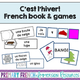 French winter / l'hiver - Mini book and centres
