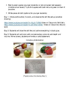 Cezanne Art Lesson