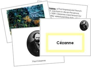 Cezanne (Paul) Art Book - Color Border