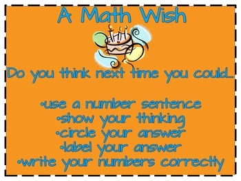 Cgi Math Star and Wish
