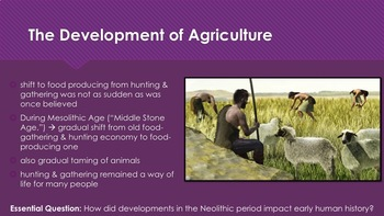 Ch 1.2 Neolithic Revolution - The Rise of Civilization - McGraw Hill PowerPoint