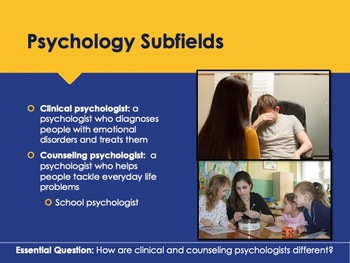 Ch 1.3 Psychology as a Profession - Approaches to Psychology - McGraw Hill