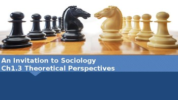 Ch 1.3 Theoretical Perspectives Invitation Sociology - Sociology You McGraw Hill