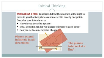 Ch. 1- Intro to Geometry Bundle: 7 PowerPoint Lesson Presentations