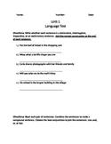 Ch. 1 Language Test