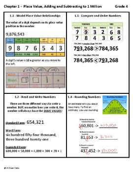 Ch  1 Math Strategies (Grade 4 Go Math!)