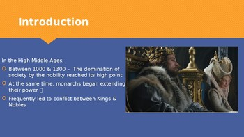 Ch 10.3 The Growth of European Kingdoms - Medieval Europe World History McGraw