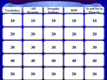 Ch. 10 Jeopardy