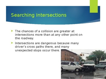 Driver's Education Ch. 10 Power Point Negotiating Intersections