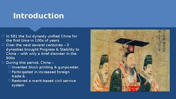 Ch 11.1 China Reunified - Civilizations of East Asia - World History McGraw Hill