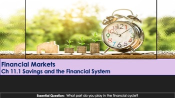 Ch 11.1 Savings and the Financial System & Markets - Economics - McGraw Hill