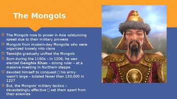 Ch 11.2 Mongols and Chinese Culture - Civilizations of East Asia History McGraw