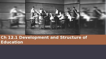 Ch 12.1 Development and Structure of Education - Sociology & You McGraw Hill