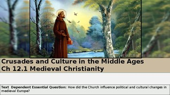 Ch 12.1 Medieval Christianity Crusades and Culture in Middle Ages World History
