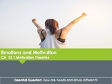 Ch 12.1 Theories of Motivation - Motivation and Emotion Un