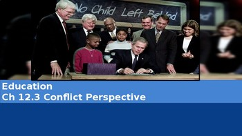 Ch 12.3 Conflict Perspective - Education - Sociology & You McGraw Hill