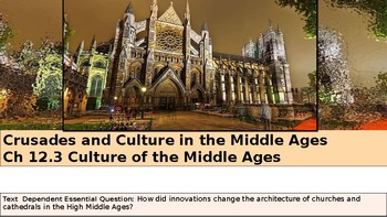 Ch 12.3 Culture of the Middle Ages - Crusades - McGraw World History