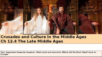 Ch 12.4 The Late Middle Ages - Crusades & Culture - McGraw World History