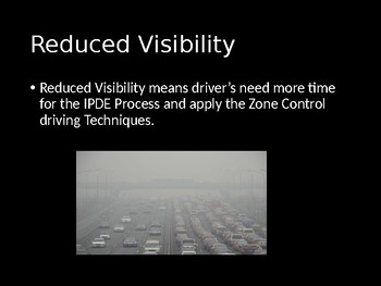 Driver's Education Ch. 12 Power Point Driving in Adverse Conditions