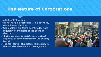Ch 13.4 Modern Corporation - Political & Economic Institutions  Sociology McGraw