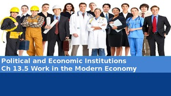 Ch 13.5 Work in the Modern Economy - Political Economic Institutions Sociology