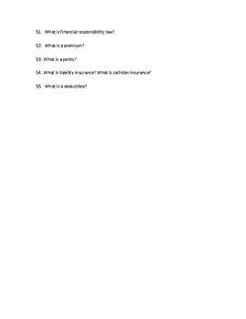 Driver's Education Ch. 13 Study Guide Handling Emergencies