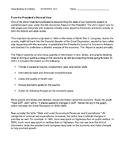 Ch 14.1 Economics - Close Reading of a Case Study - Common Core Worksheet