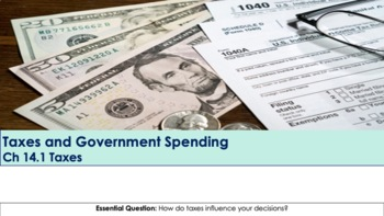 Ch 14.1 Taxes and Government - Economics - McGraw Hill