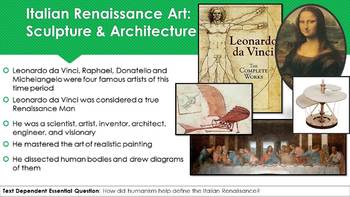Ch 15.2 Ideas and Art of the Renaissance in Europe - World History McGraw Hill