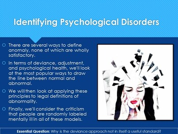 Ch 16.1 Defining Psychological Disorders - Psychology - McGraw Hill