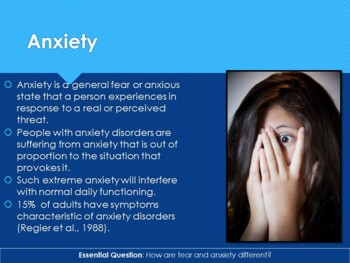 Ch 16.2 Anxiety Disorders - Psychological Disorders - Psychology - McGraw Hill
