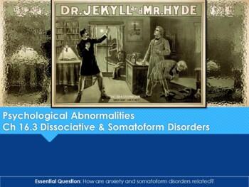Ch 16.3 Somatoform and Dissociative Disorders - Psychological - Psychology
